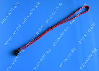 SATA Revision 3.0 Black Laptop SATA Cable Straight To Right Angle SATA 600