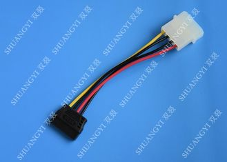 Molex 4 Pin To 15 Pin SATA Hard Drive Power Cable Female To Male Length 500mm